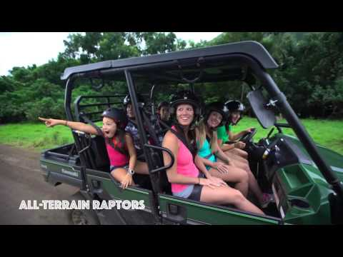 Kualoa Ranch & Private Nature Reserve Zipline, ATV, Horse, Jeep and Boat Tours