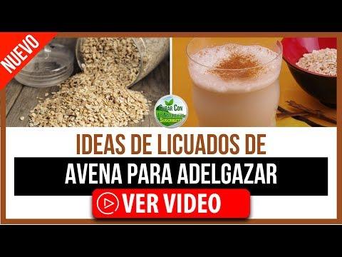 Dietas para adelgazar - IDEAS DE LICUADOS DE AVENA PARA ADELGAZAR