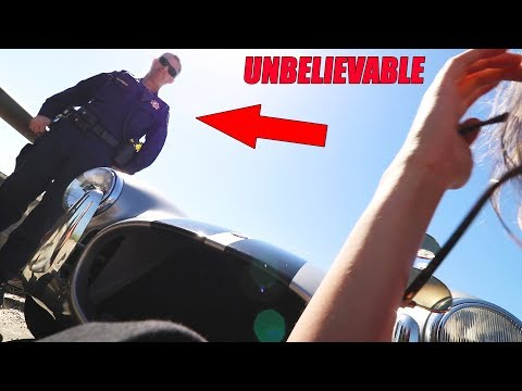 Harassed by Police for Car Breaking Down on Freeway *Dangerous*