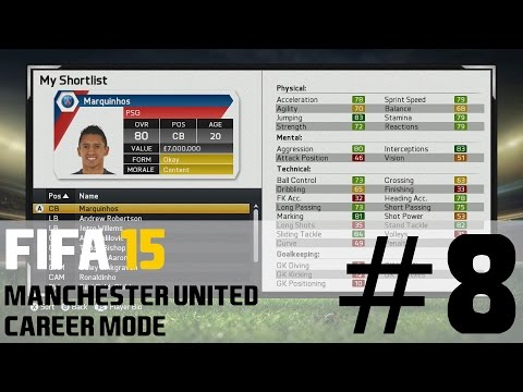 FIFA 15 Manchester United Career Mode - January Transfer Targets - S1E08