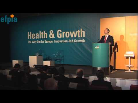 VIDEO: EFPIA President outlines the priorities for the Pharmaceutical Industry