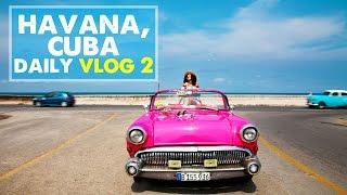 CUBA DAILY VLOG 02: Photo Shoot & Convertible Tour | Day 2 in Cuba