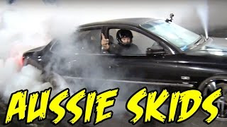 Aussie SKIDS - Wheel Shredding MADNESS! by 1320Video