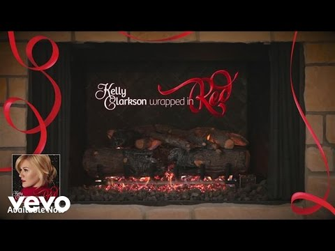 Kelly Clarkson - Underneath the Tree (Kelly's 'Wrapped in Red' Yule Log Series)
