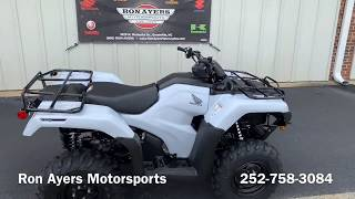 5. 2019 Honda FourTrax Rancher 4x4 DCT IRS EPS