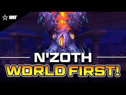 Limit vs Mythic N'zoth WORLD FIRST - Ny'alotha, The Waking City