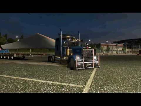 Physics and the angle of rotation for long Trucks