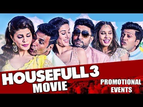 Housefull 3 Movie (2016) Promotional Events | Akshay Kumar, Riteish Deshmukh, Abhishek Bachchan