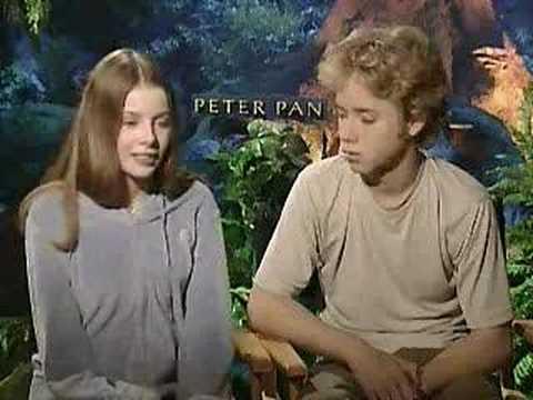 Interview-Peter Pan- Jeremy Sumpter and Rachel Hurd-Wood