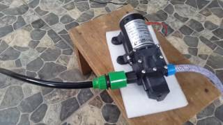 HIGH PRESSURE CAR WASH PUMP 100 WATT 8L per min/ Pompa Cuci Mobil 160 Psi