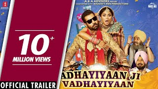 Vadhayiyaan Ji Vadhayiyaan movie songs lyrics