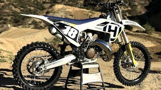 2. First Ride 2018 Husqvarna TC125 2 Stroke - Motocross Action Magazine