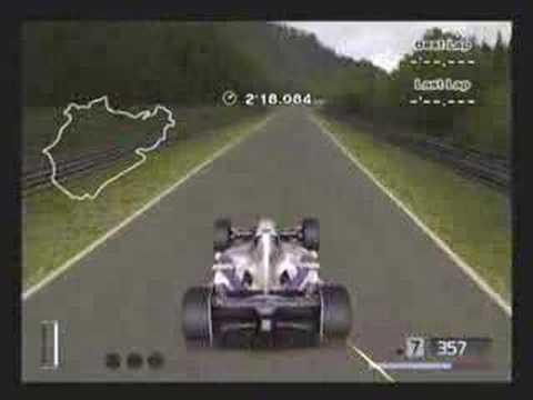 Gran Turismo 4- Nurburgring F1 4'39.890