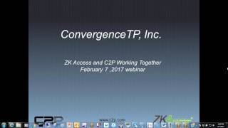 60-minute ZKAccess C2P Milestone demo
