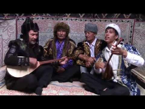 Арсланбек Султанбеков, Алибий Романов, Ахмат Кульниязов и Эдиге Куруптурсунов - \