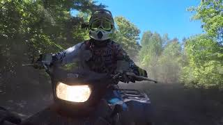 8. Yamaha Grizzly 700 SE 2018 Dips and Dust