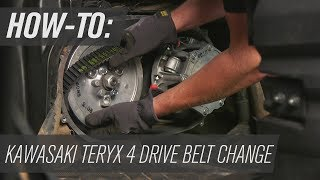 7. How To Change the Belt on a Kawasaki Teryx4