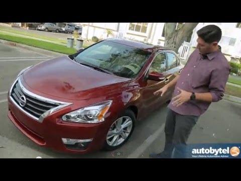 2014 Nissan Altima 3.5 SL Test Drive & V-6 Sedan Video Review