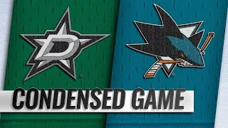12/13/18 Condensed Game: Stars @ Sharks by NHL