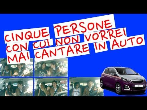 5 persone con cui non vorresti mai cantare in macchina