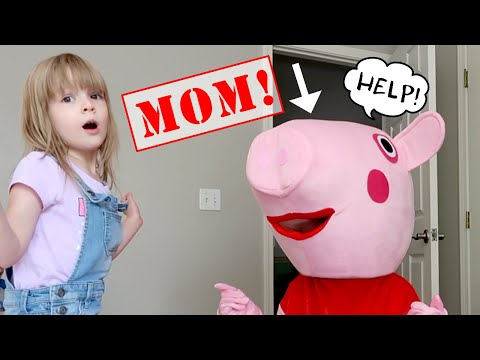 The Doll Maker Turns My PB and J Mom into Real Life PEPPA!