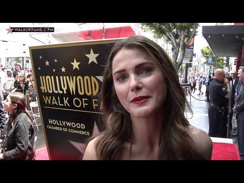Keri Russell Walk of Fame Ceremony