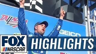 Ricky Stenhouse Jr. Wins First Career Race   2017 TALLADEGA   FOX NASCAR