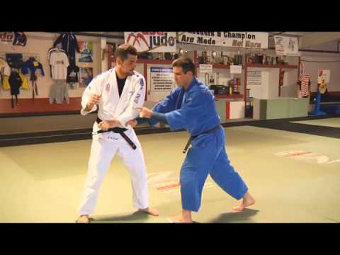 Judo Grip Fighting and Gripping Drills and Skills- Great Osoto Gari by Pedro