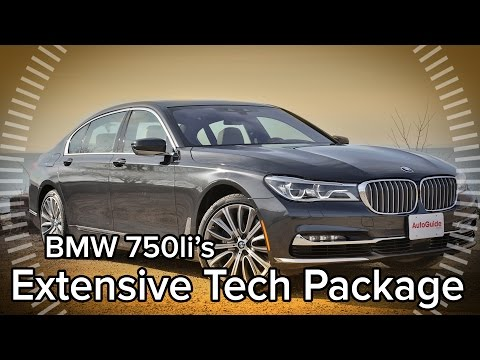 A Rundown of all the 2016 BMW 7 Series' Super Fancy Technology - Feature Focus