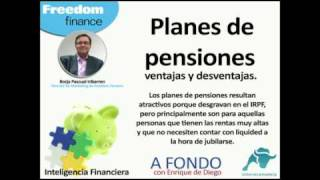 Ventajas y Desventajas de los planes de pensiones