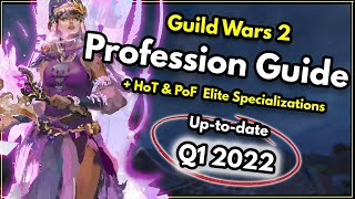 Video Guild Wars 2 - What profession (Class) should I play? [2018] & Every Elite Specialization Explained! MP3, 3GP, MP4, WEBM, AVI, FLV November 2018