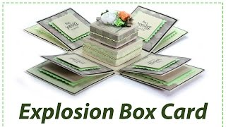 DIY Explosion Box Gift Card Idea for Family, Girlfriend, or Boyfriend for Special Occasions