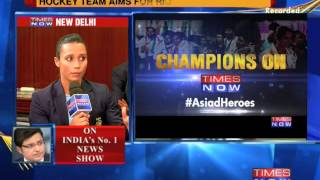 Asiad Heroes On TIMES NOW - Part 4