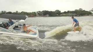 Looks like the waves are curling perfectly for Harley and Steel, Check it out! For more videos check out www.alliancewake.com