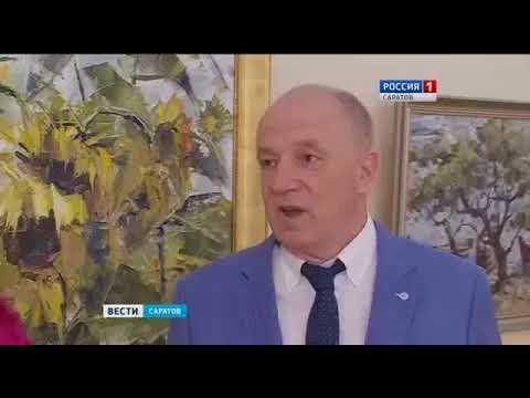 Выставка Владимира Ракчеева в Радищевском музее в честь 60-ти летия