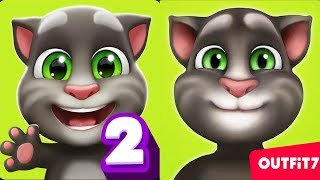 Video My Talking Tom 2 vs My Talking Tom - Android Gameplay #1 MP3, 3GP, MP4, WEBM, AVI, FLV Desember 2018