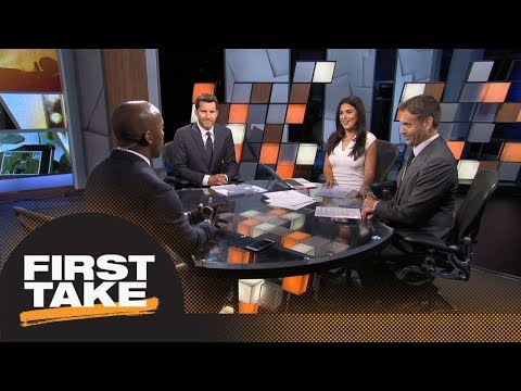 Should the Colts be playing Andrew Luck in the preseason? | First Take | ESPN (видео)