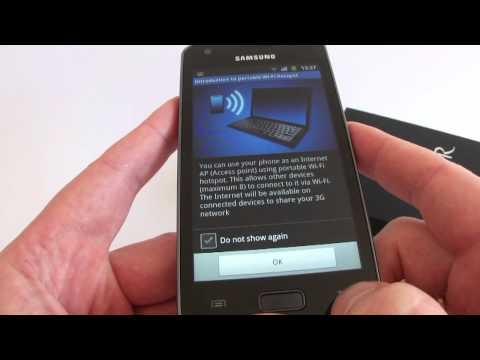 Samsung Galaxy R - hands on