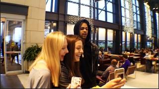 Fake Celebrity Prank In Lenox Mall