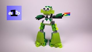 LEGO MIXELS 41549 Gurggle, Glorp Corp Tribe Series 6 Time Lapse Build