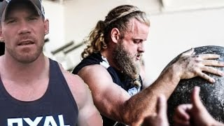Brian's Channel: https://www.youtube.com/user/AlphaTnation In this video I feature guest Strongman/YouTuber Brian Alsruhe of...