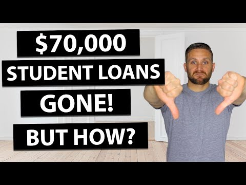 How I Started Paying Off $70,000 In Student Loans In 4 Years