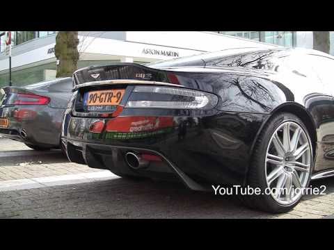 DBS - Jorrik records a very nice sounding Aston Martin DBS. The very kind owner also owns a red DBS, V12 Vantage, Vanquish S and some other cars including the V8 V...