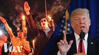 By refusing to take a side on the violence in Charlottesville, Trump has taken a side.Subscribe to our channel! http://goo.gl/0bsAjOVox.com is a news website that helps you cut through the noise and understand what's really driving the events in the headlines. Check out http://www.vox.com to get up to speed on everything from Kurdistan to the Kim Kardashian app. Check out our full video catalog: http://goo.gl/IZONyEFollow Vox on Twitter: http://goo.gl/XFrZ5HOr on Facebook: http://goo.gl/U2g06o