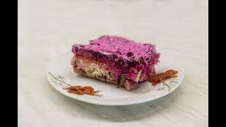 Селедка под шубой, пошаговый классический рецепт слоями для ленивых