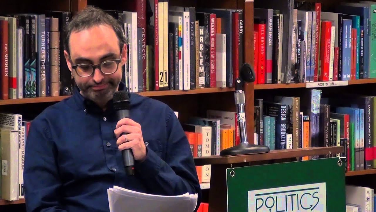Gary Shteyngart Little Failure at Politics & Prose Bookstore