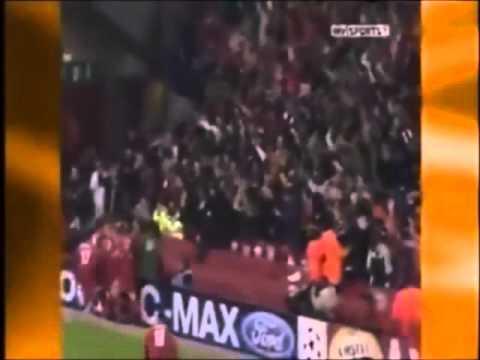 Gerrard Goal Vs Olympiakos With Goal Celebration