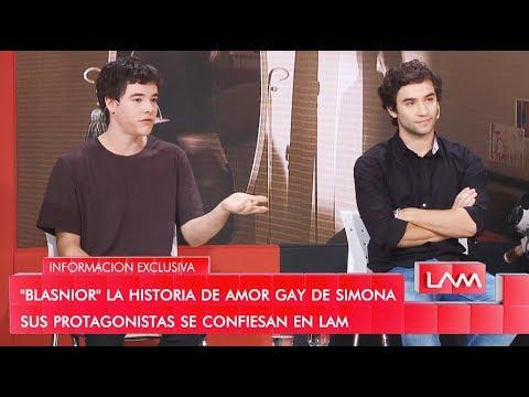 Historias de amor - #BLASNIOR: La historia de amor gay de Simona, sus protagonistas se confiesan