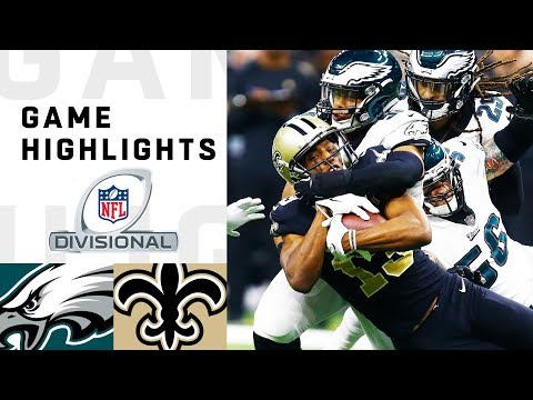 Eagles vs. Saints Divisional Round Highlights | NFL 2018 Playoffs