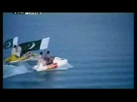 National song - pakistan national song nusrat fateh ali khan army navy air force millitary qomi nagma.